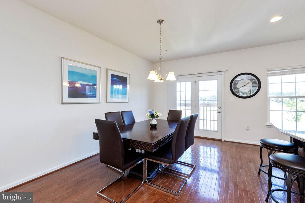 Large dining area - 5925 SHEPHERD LN, FREDERICK