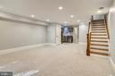 Basement Living Area - 123 11TH ST SE, WASHINGTON