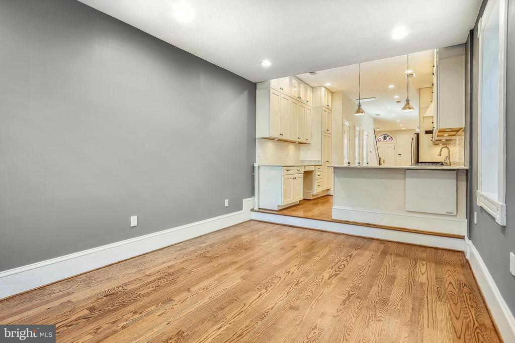 Family Room or Dining Room - 123 11TH ST SE, WASHINGTON