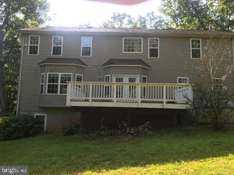 LARGE REAR DECK & PRIVATE BACK YARD - 30322 STONEWALL DR, LOCUST GROVE