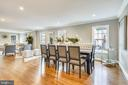 Brightly lit dining area for meals & entertaining - 108 N PAYNE ST, ALEXANDRIA