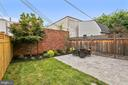 Brand new patio, landscaping, and privacy fence, - 108 N PAYNE ST, ALEXANDRIA