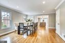 Expansive Dining Room - 108 N PAYNE ST, ALEXANDRIA