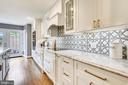 Counters are high end, natural stone, quartzite - 108 N PAYNE ST, ALEXANDRIA