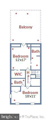 3rd Level Dimensions - 108 N PAYNE ST, ALEXANDRIA
