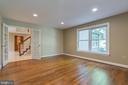 Large home office with views of the beautiful yard - 3276 HISTORY DR, OAKTON