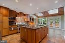 Expansive kitchen w/lots of room to bake - 3276 HISTORY DR, OAKTON