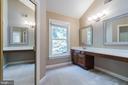 Second walk-in closet, dressing room & vanity - 3276 HISTORY DR, OAKTON