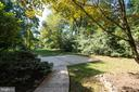 Beautiful, quiet back yard - 3276 HISTORY DR, OAKTON