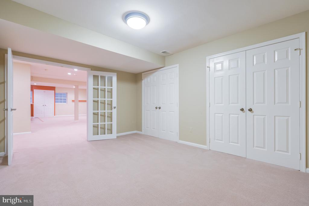 Exercise room w/lots of storage - 3276 HISTORY DR, OAKTON
