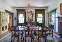 Formal Dining Room with fireplace - 7508 BELMONT RD, SPOTSYLVANIA