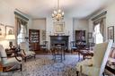 Living Room with fireplace - 7508 BELMONT RD, SPOTSYLVANIA