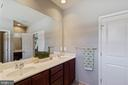 Double sink vanity for both of you - 23337 MORNING WALK DR, BRAMBLETON