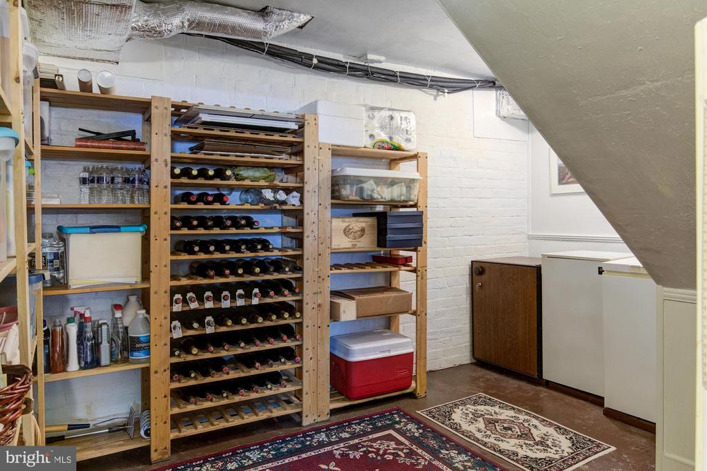 Lower Level Wine Cellar storage - 7508 BELMONT RD, SPOTSYLVANIA