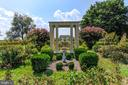 Gazebo with sun dial and formal gardens - 7508 BELMONT RD, SPOTSYLVANIA