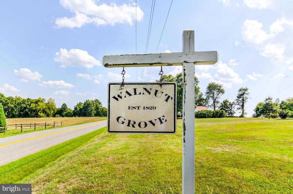 Front welcome sign - 7508 BELMONT RD, SPOTSYLVANIA