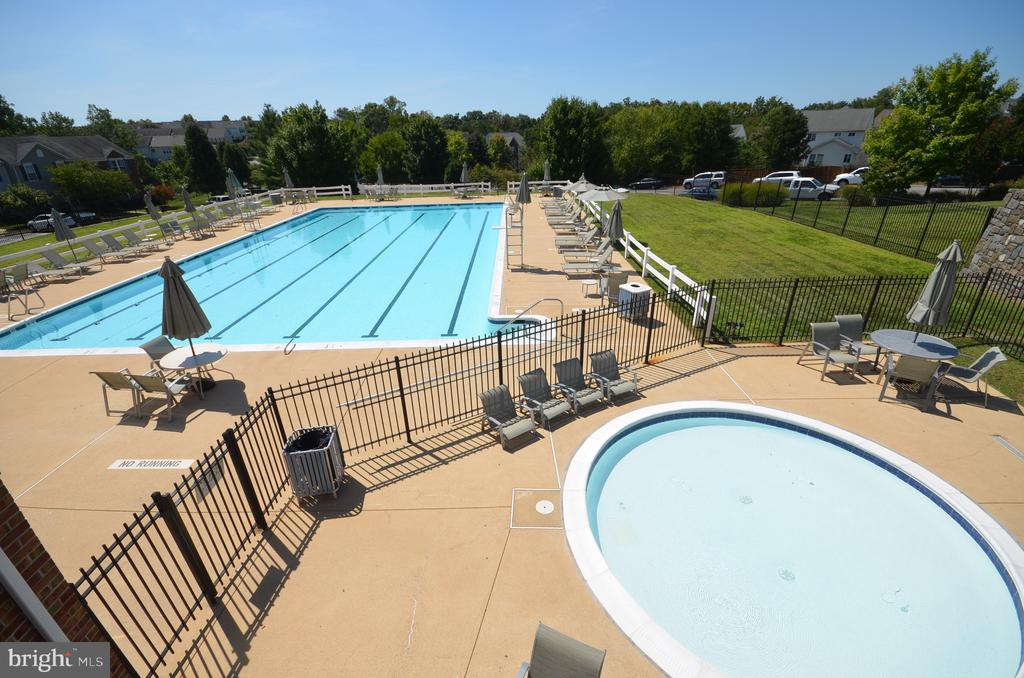 Community outdoor pool and separate baby pool - 45794 MOUNTAIN PINE SQ, STERLING