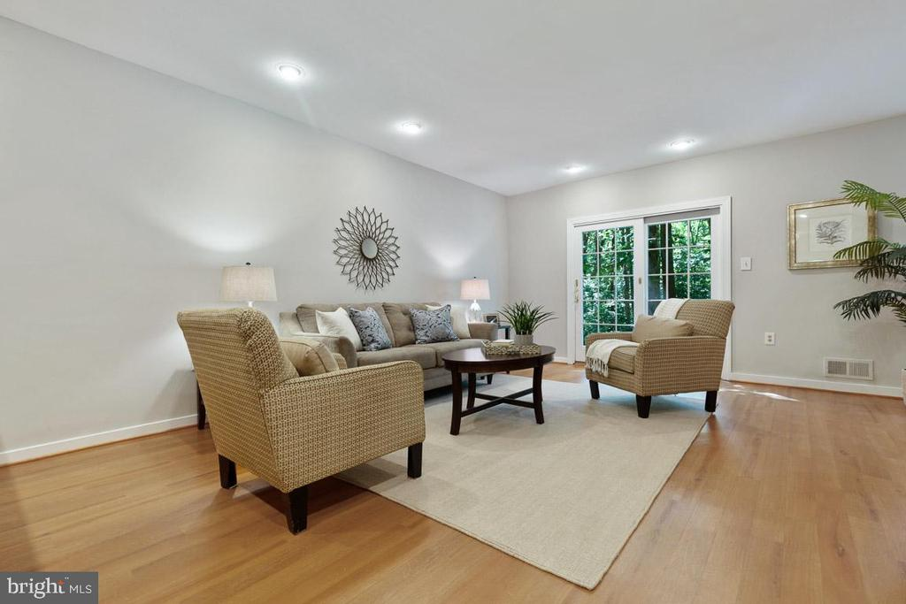 French doors and recessed lights! - 11715 BLUE SMOKE TRL, RESTON