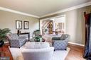 Extended Living Room - 43130 KIMBERLEY CT, LEESBURG