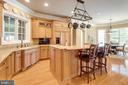 Handsome Kitchen with View to Breakfast Rm - 2479 OAKTON HILLS DR, OAKTON