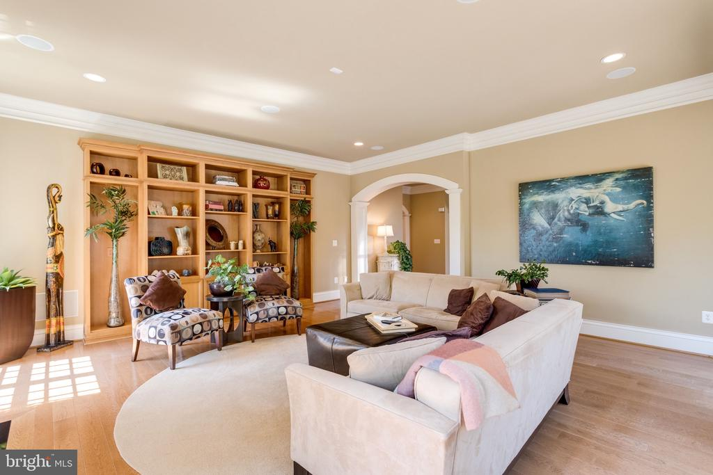 Handsome Built-in's in Great Room - 2479 OAKTON HILLS DR, OAKTON