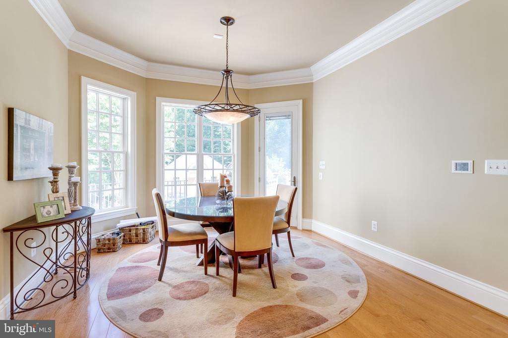 Breakfast Room with Deck Access - 2479 OAKTON HILLS DR, OAKTON