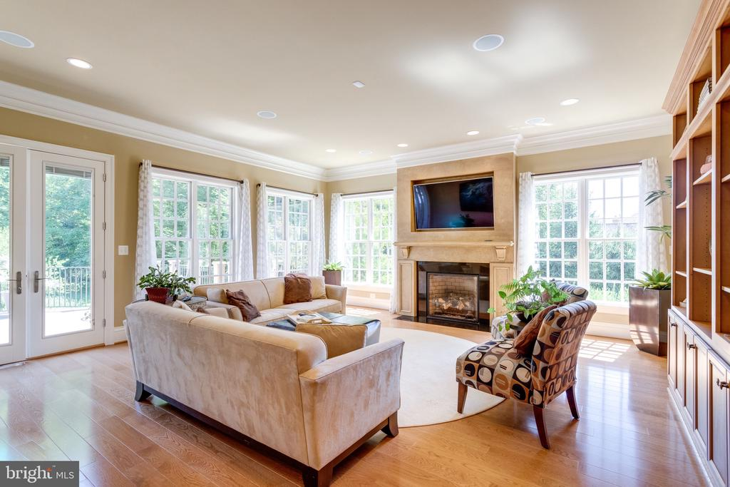 Awe-inspiring Light-filled Great Room - 2479 OAKTON HILLS DR, OAKTON