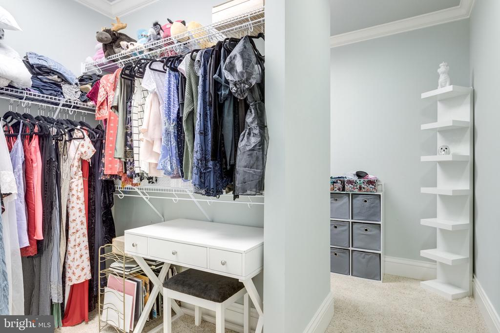 2 Sided Walk-in Closet in Studio - 2479 OAKTON HILLS DR, OAKTON