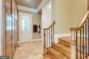 Wood Cabinetry in Mudroom & Au pair Suite Access - 2479 OAKTON HILLS DR, OAKTON