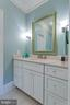 Large Vanity in Dressing Area - 2479 OAKTON HILLS DR, OAKTON