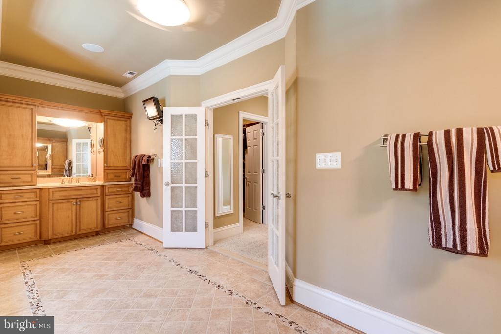 2 Water Closets & French Doors to Dressing Rooms - 2479 OAKTON HILLS DR, OAKTON
