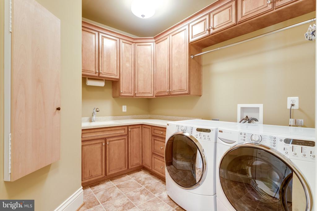 Upper Level Laundry w/ Ironing Station - 2479 OAKTON HILLS DR, OAKTON