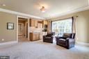 Spacious Sitting Room - 2479 OAKTON HILLS DR, OAKTON
