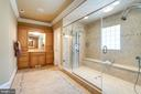 Exquisite Wood Vanities on Opposite Sides - 2479 OAKTON HILLS DR, OAKTON