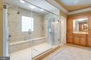 Voluminous Walk-in Shower In Master Retreat - 2479 OAKTON HILLS DR, OAKTON