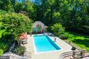 Bedrooms Enjoy Pool Views - 2479 OAKTON HILLS DR, OAKTON