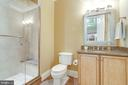Full Bath on Lower Level - 2479 OAKTON HILLS DR, OAKTON