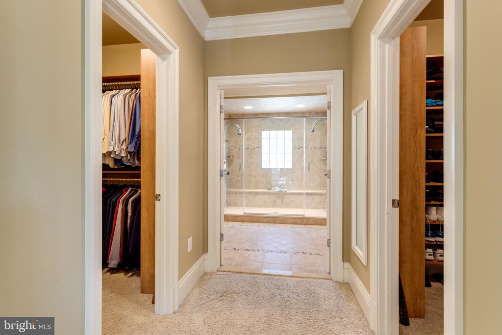 View to Master Bath from Dressing Area - 2479 OAKTON HILLS DR, OAKTON