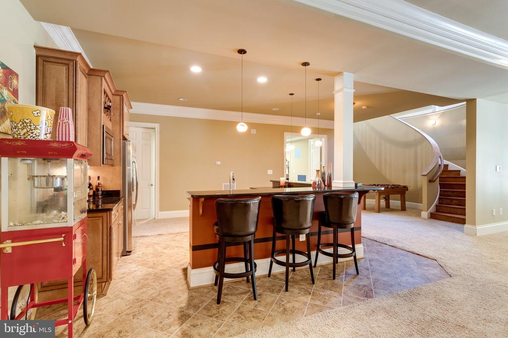 Entertain on Game Day or Movie Night - 2479 OAKTON HILLS DR, OAKTON