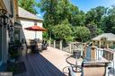 Expansive Deck Overlooks Your Domain - 2479 OAKTON HILLS DR, OAKTON
