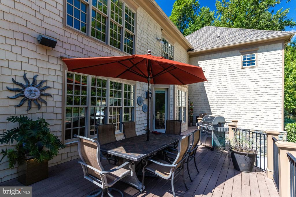 Relax on Your Low Maintenance Deck - 2479 OAKTON HILLS DR, OAKTON