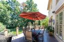 Enjoy a Casual Meal on the Deck - 2479 OAKTON HILLS DR, OAKTON