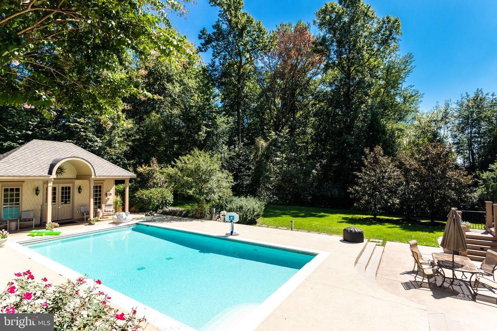 Pool & Yard - 2479 OAKTON HILLS DR, OAKTON