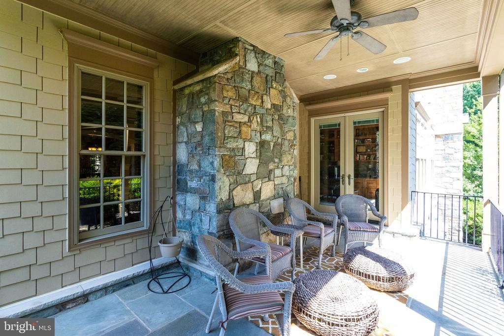 Relaxing Porch w Access from Liv Rm & Study - 2479 OAKTON HILLS DR, OAKTON