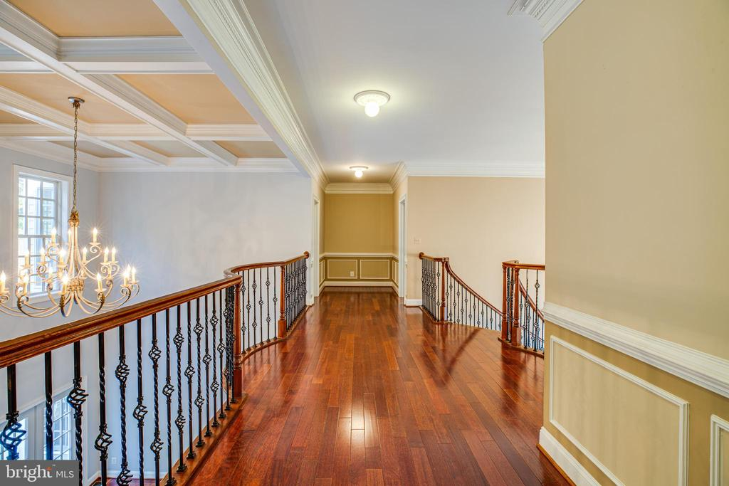 2 story open staircase - 13610 KALMBACKS MILL DR, FREDERICKSBURG