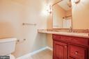 full bath in bedroom 3 - 13610 KALMBACKS MILL DR, FREDERICKSBURG