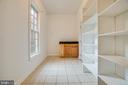 Pantry/ mud room provides lots of storage - 13610 KALMBACKS MILL DR, FREDERICKSBURG