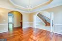 Large formal dining - 13610 KALMBACKS MILL DR, FREDERICKSBURG