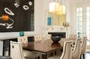 Dining Room - 2015 HILLYER PL NW, WASHINGTON