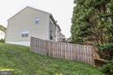 Large Side Yard and Newly Fenced Back Yard - 15083 JARRELL PL, WOODBRIDGE